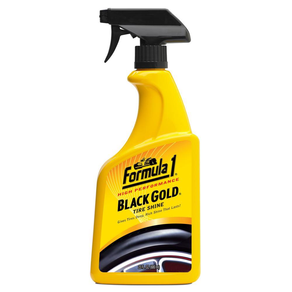 Formula 1 Black Gold Tire Shine
