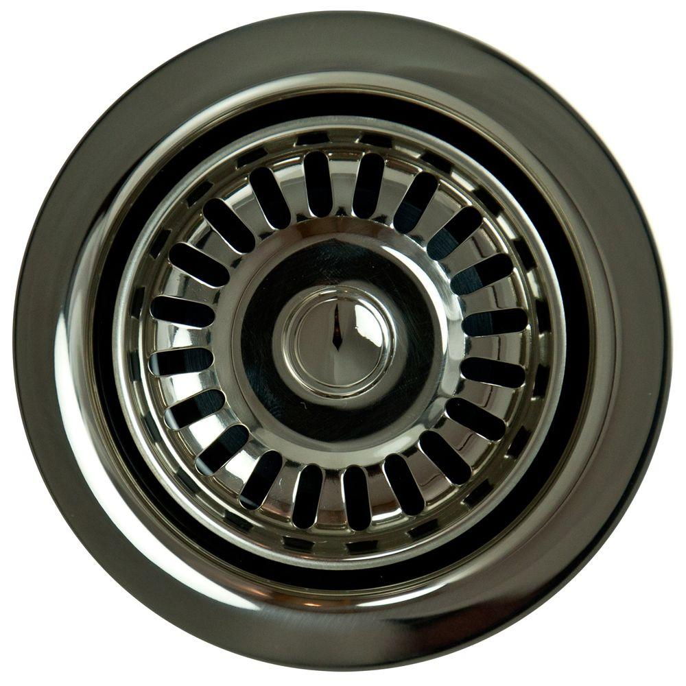 null Garbage Disposal Stopper/Strainer in Polished Nickel
