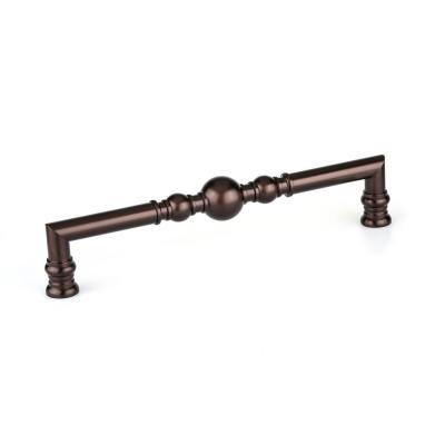 12-5/8 in. (320 mm) Center-to-Center Honey Bronze Traditional Drawer Pull