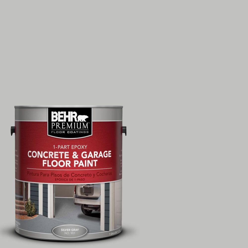 BEHR Premium 1-Gal. #PFC-62 Pacific Fog 1-Part Epoxy Concrete and Garage Floor Paint