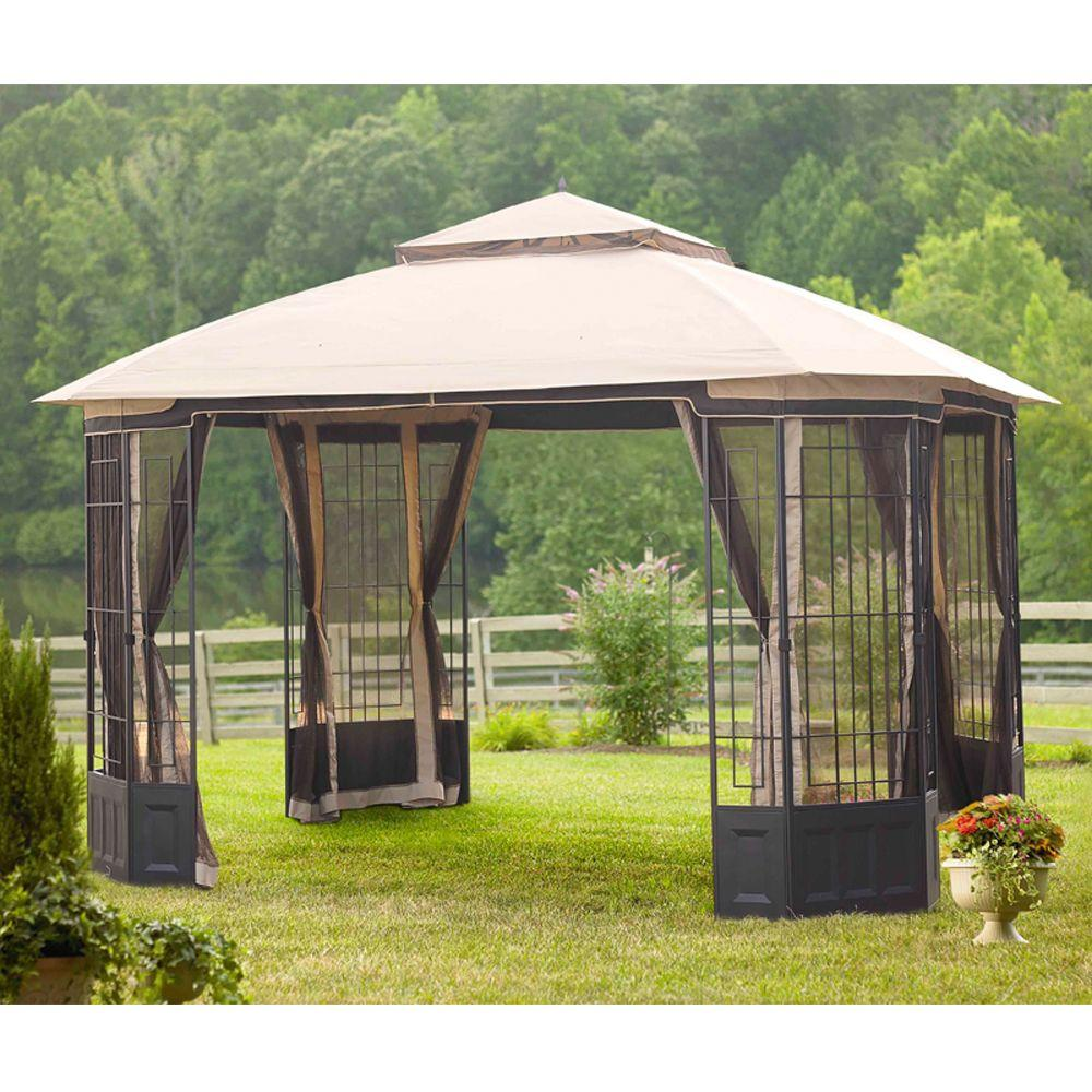 Hampton Bay 12 Ft X 10 Bethany Gazebo