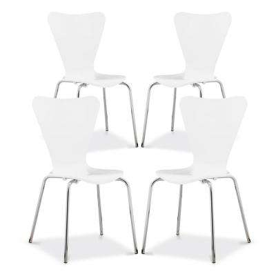 Brynn White Dining Chair (Set of 4)