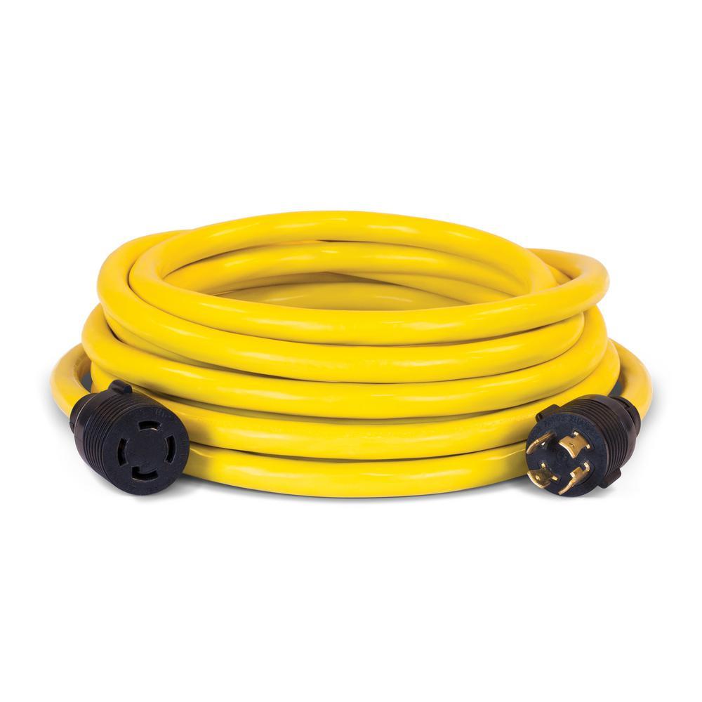 Champion Generator 30 Amp Plug Wiring Diagram Libraries 9000 Power Equipment 25 Ft Nema L14 30p To 30r Generatorchampion