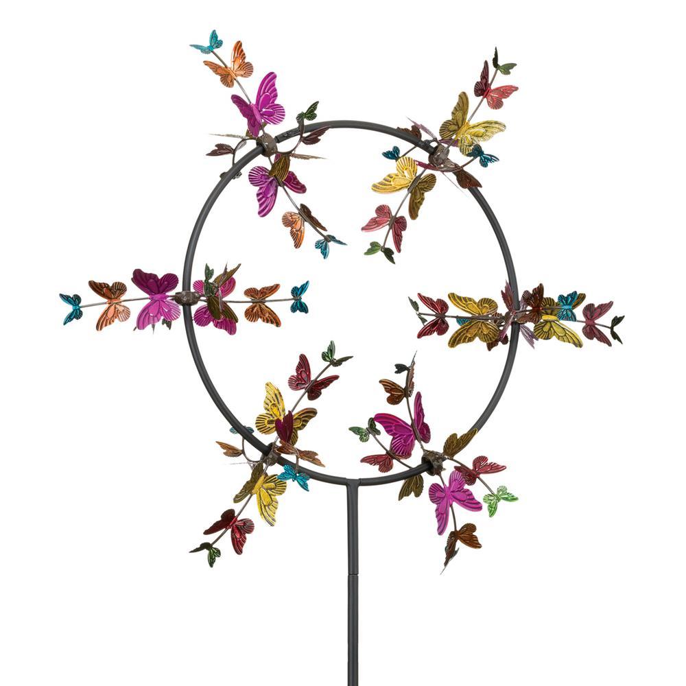 26 in. Vortex Wind Spinner Butterfly