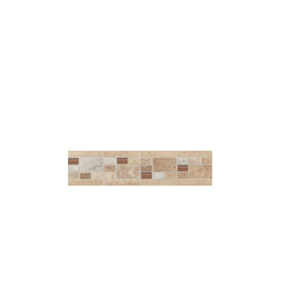 Merveilleux Daltile Carano Deco Universal 3 In. X 12 In. Ceramic Trim And Accent Wall
