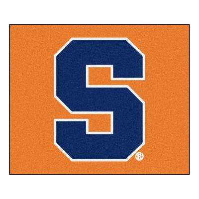 NCAA Syracuse University Orange 5 ft. x 6 ft. Area Rug