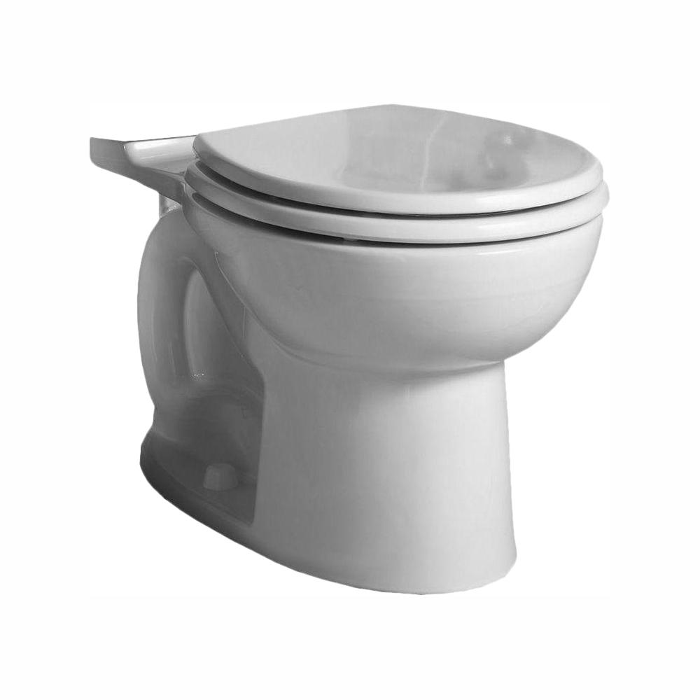 Stupendous American Standard Cadet 3 Flowise Tall Height Round Toilet Bowl Only In White Creativecarmelina Interior Chair Design Creativecarmelinacom