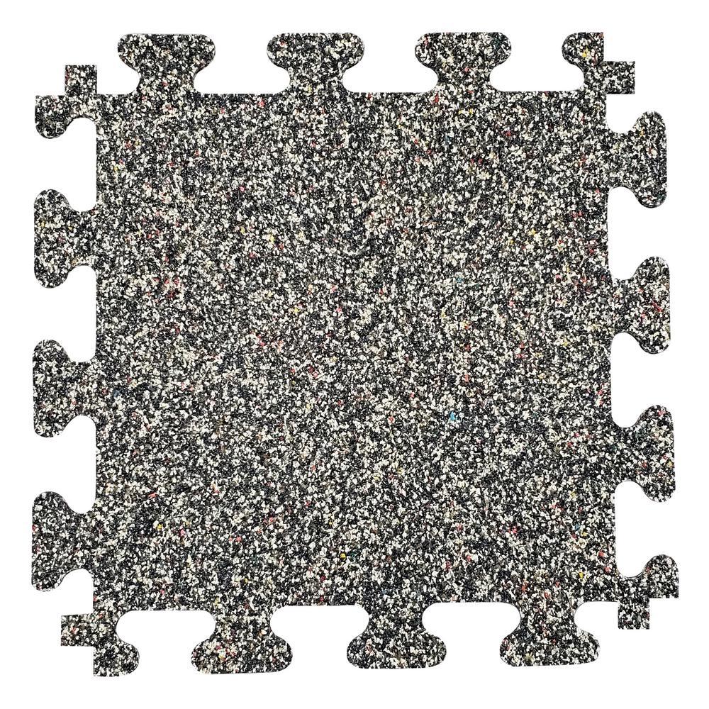 Gym Nike Grind Rubber Flooring Tiles 14.32 Sq. ft. Coverage - 38 in. x 54.25 in. Vinyl Sheet