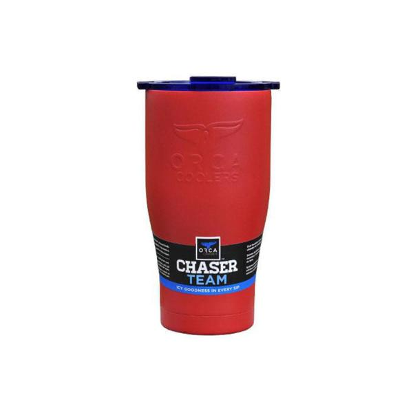 ORCA ORCCHA27RE/BL Chaser Tumbler, 27 oz Capacity, Stainless Steel, Red