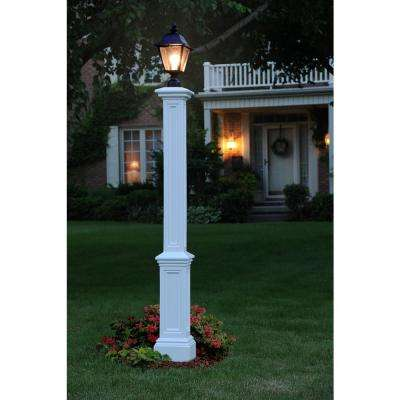 Signature Lamp Post WH with Mount