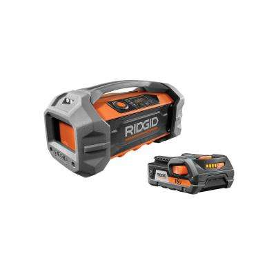 18-Volt Bluetooth Jobsite Radio Kit