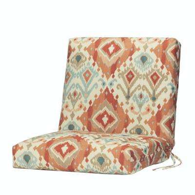 Alessandro Spiceberry Outdoor Dining Chair Cushion