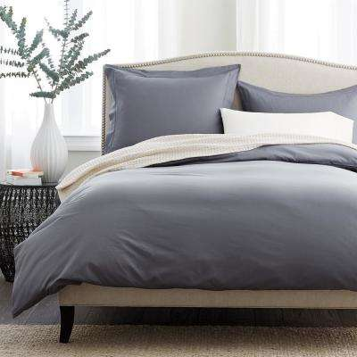Supima Percale Duvet Cover
