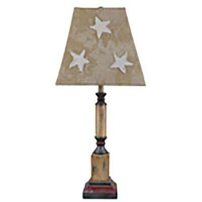 25 in. Tan Table Lamp