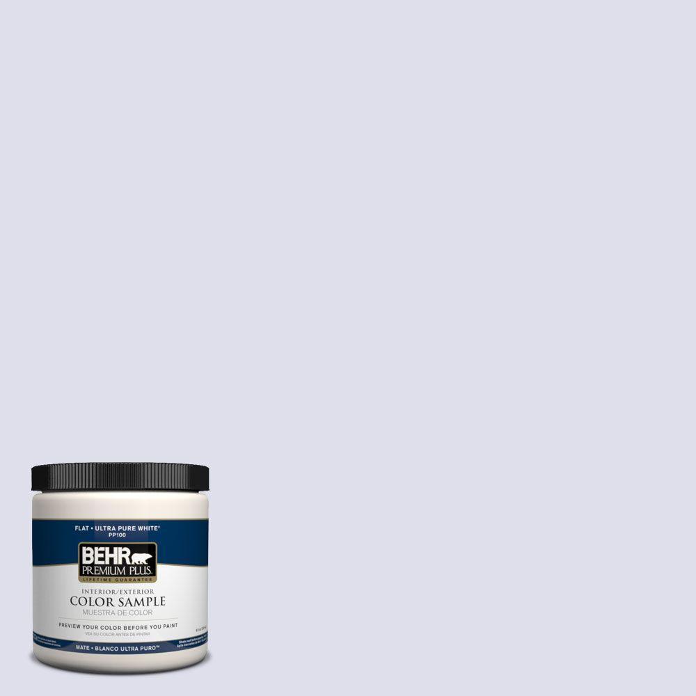 BEHR Premium Plus 8 oz. #PPH-37 Lilac Blossom Interior/Exterior Paint Sample