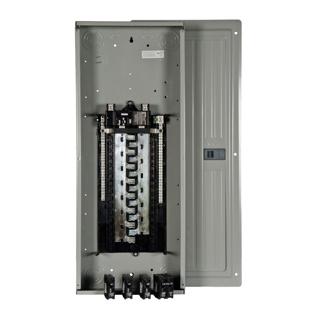 Siemens ES Series 200 Amp 30-Space 54-Circuit Main Breaker Load Center Value