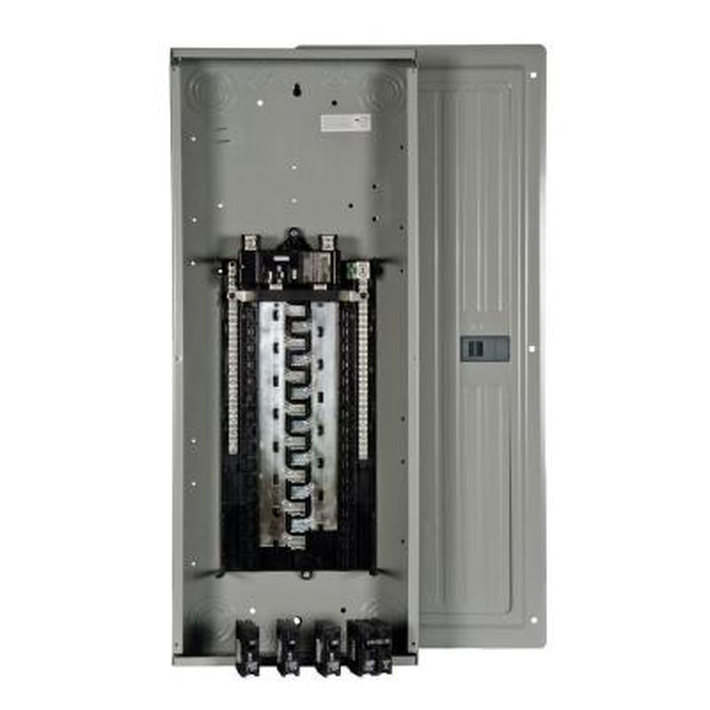 ES Series 200 Amp 30-Space 54-Circuit Main Breaker Load Center Value Pack