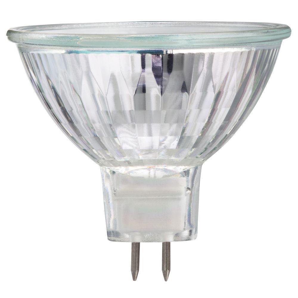 50-Watt Halogen MR16 Dimmable Flood Light Bulb (30-Pack)