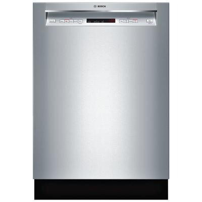 300 Series 24 in. Stainless Steel Front Control Tall Tub Dishwasher with Stainless Steel Tub and 3rd Rack, 44dBA