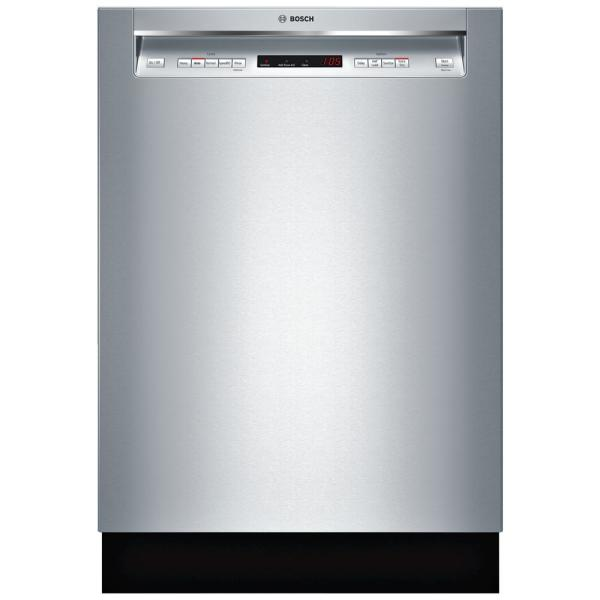 300 Series Front Control Tall Tub Dishwasher in Stainless Steel with Stainless Steel Tub and 3rd Rack, 44dBA