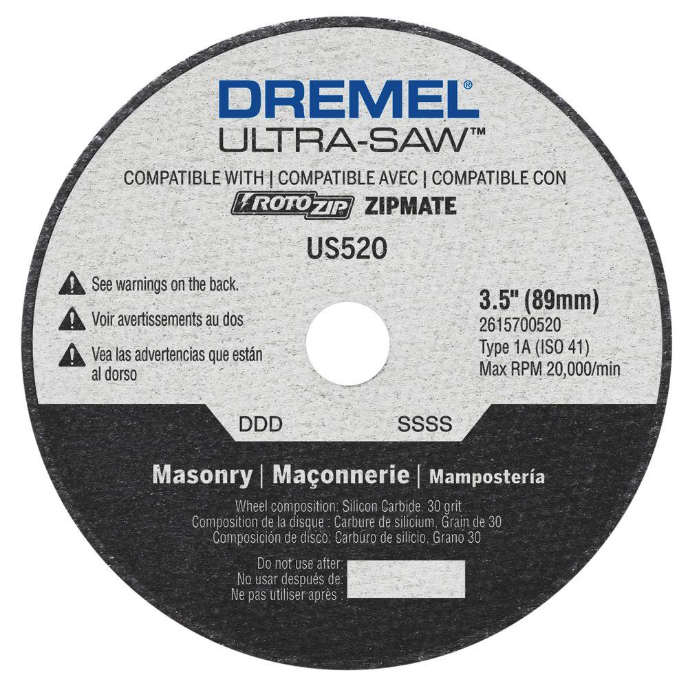 Brick Cement Board : Dremel ultra saw in masonry cutting wheel for stone