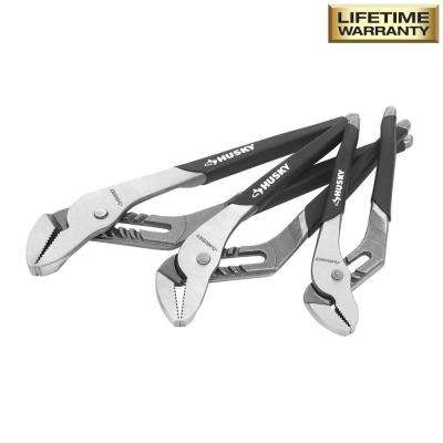 Groove Joint Pliers Set (3-Piece)