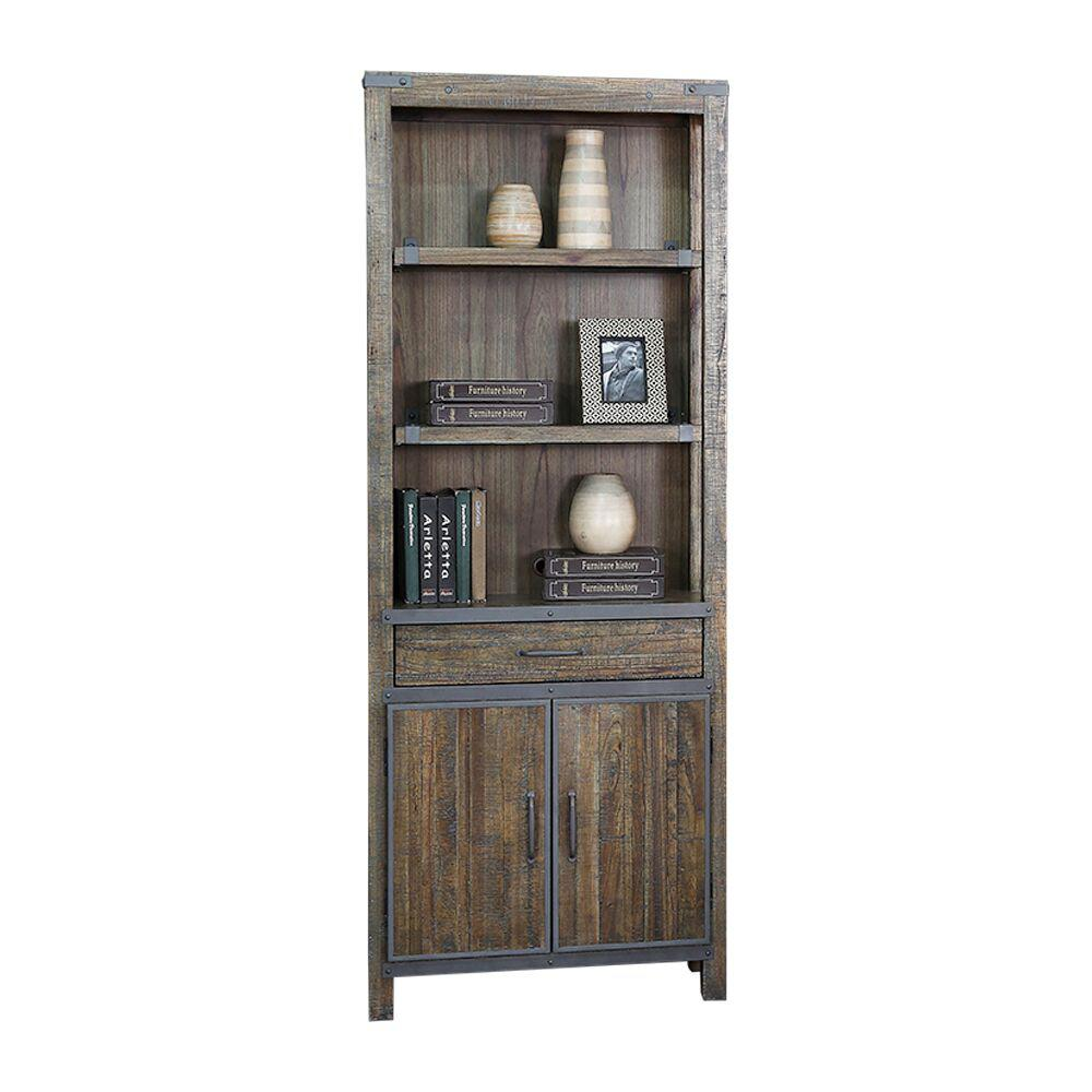 Turnkey Revival Quenby Storage Open Bookcase