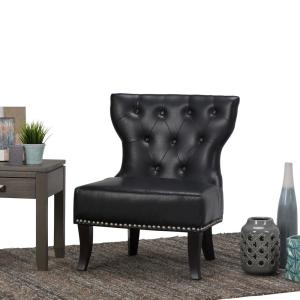 Groovy Simpli Home Kitchener Traditional 28 In Wide Accent Slipper Ibusinesslaw Wood Chair Design Ideas Ibusinesslaworg