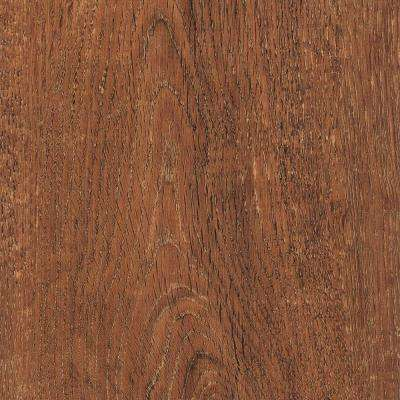 Take Home Sample - Wire Brushed Cordova Cherry Vinyl Plank Flooring - 5 in. x 7 in.