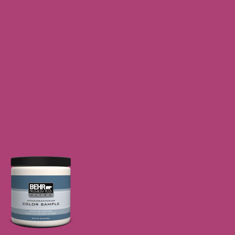 100b 7 Hot Pink Satin Enamel Interior