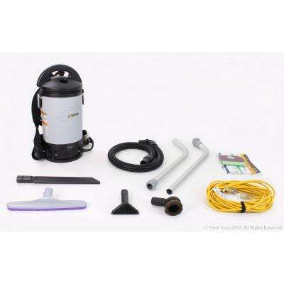New Sierra Commercial Backpack Vacuum Cleaner with 1-1/2 in. Tools and Restaurant Kit