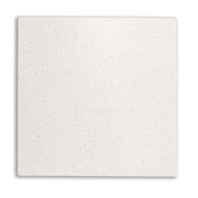 4 in. x 4 in. Solid Surface Countertop Sample in Fine Cream