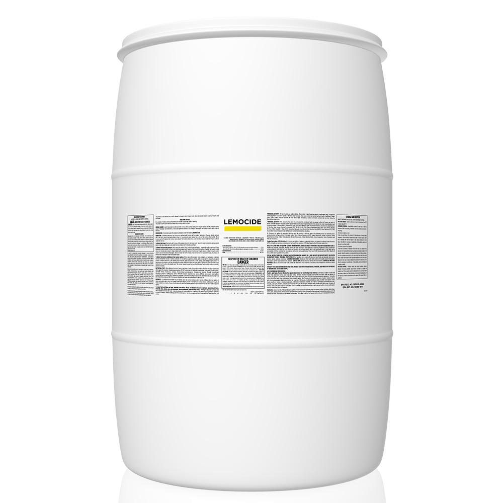 55 Gal. Case Lemo-Cide Disinfecting Mildew Virus and Mold Killer