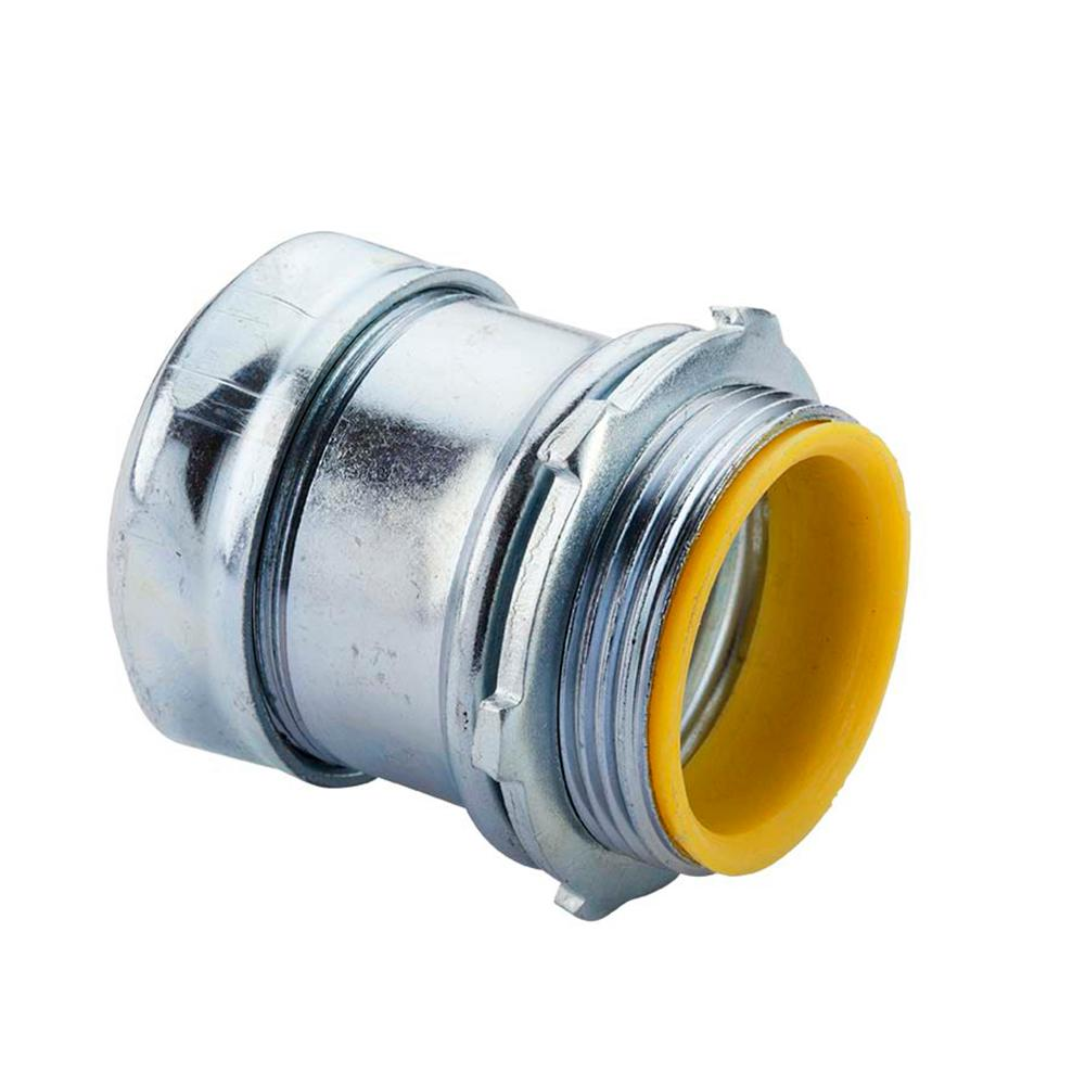1-1/2 in. Electrical Metallic Tube (EMT) Compression Connector with Insulated