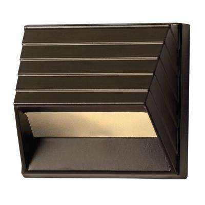 Bronze LED Outdoor Flushmount Deck Sconce