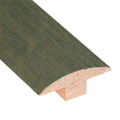 Slate 3/4 in. Thick x 2 in. Wide x 78 in. Length Hardwood T-Molding