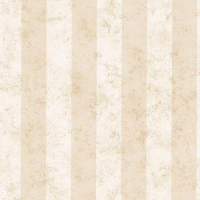 Rockland Cream Marble Stripe Wallpaper Sample