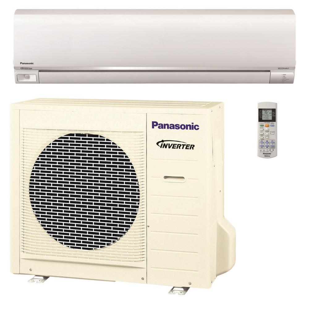 Panasonic 24,000 BTU 2 Ton Exterios Ductless Mini Split Air Conditioner with Heat Pump -... by Panasonic