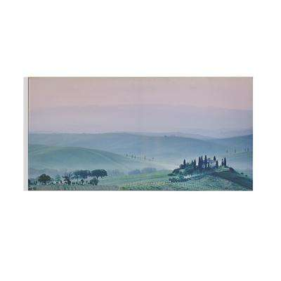 "40 in. x 20 in. ""Harmony Hillside"" Printed Wall Art"