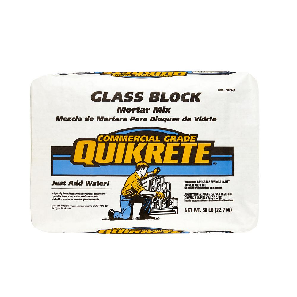 Quikrete 50 lb. Glass Block Mortar Mix
