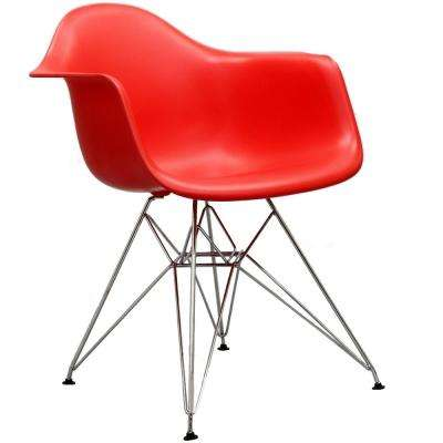 Paris Red Dining Arm Chair