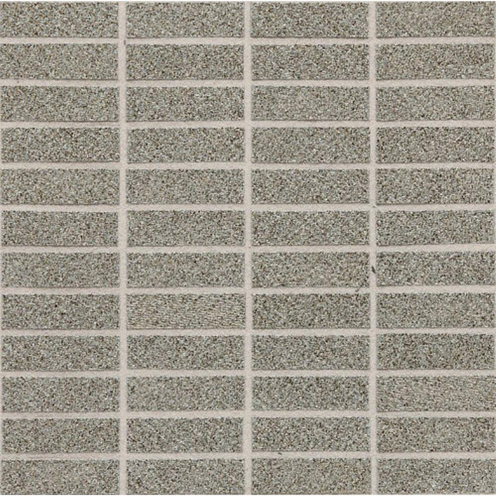 Daltile Identity Metro Taupe Fabric 12 x 12 x 9-1/2 mm Porcelain Sheet-Mounted Floor and Wall Tile (9 sq. ft./case)-DISCONTINUED
