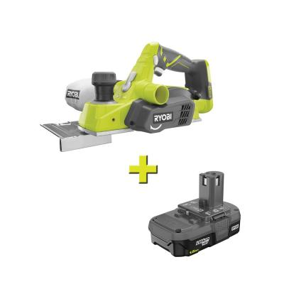 18-Volt ONE+ Cordless 3-1/4 in. Planer with 1.5 Ah Compact Lithium-Ion Battery