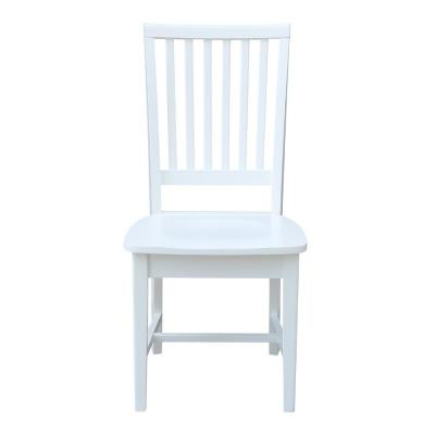 Pure White Mission Chair (Set of 2)