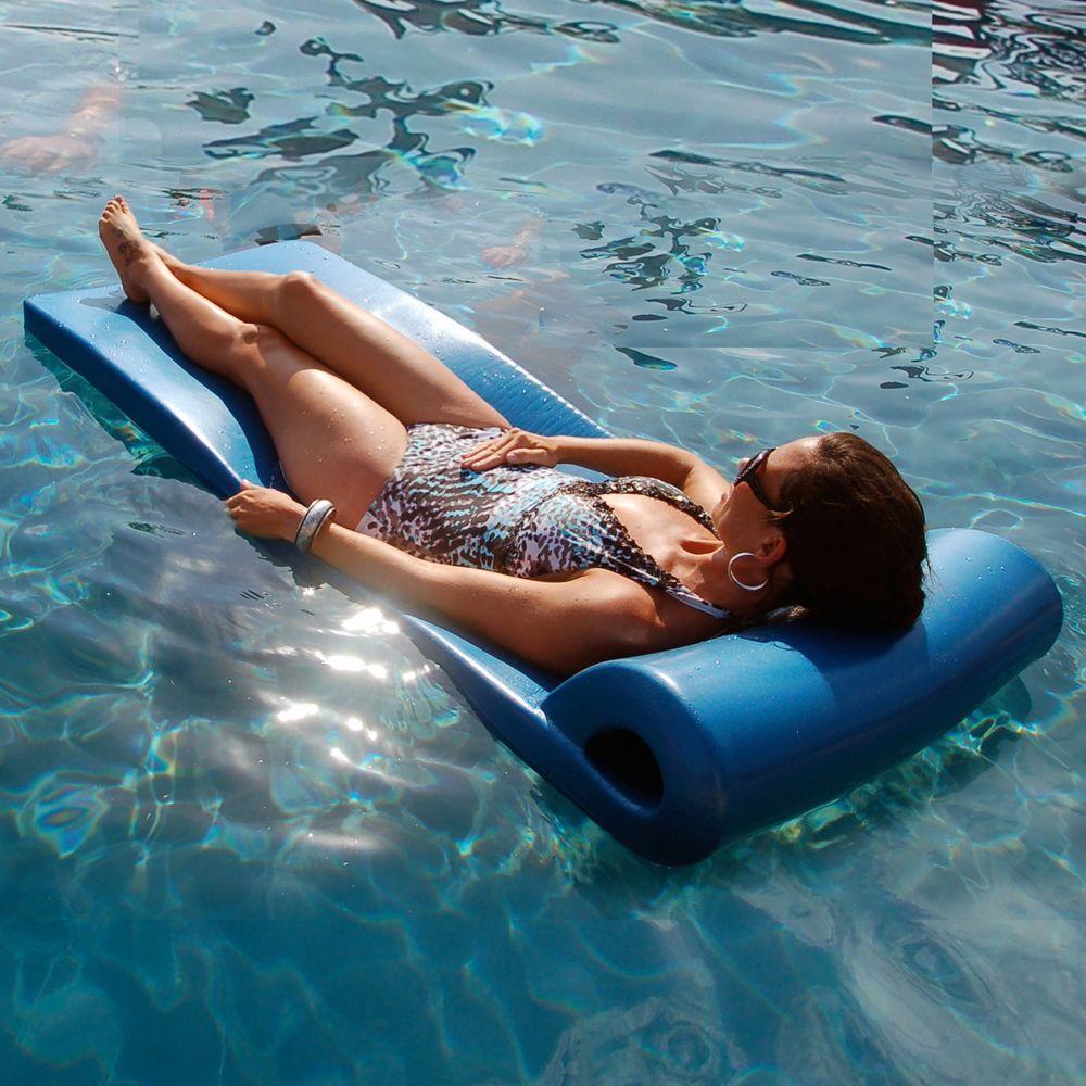 Sunsation Metallic Blue Ultra Pool Float