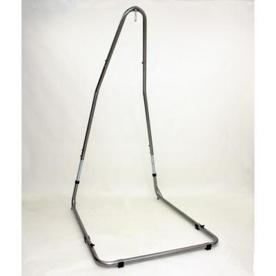 79 in. - 94 in. Adjustable Powder Coated Steel Hanging Chair Stand