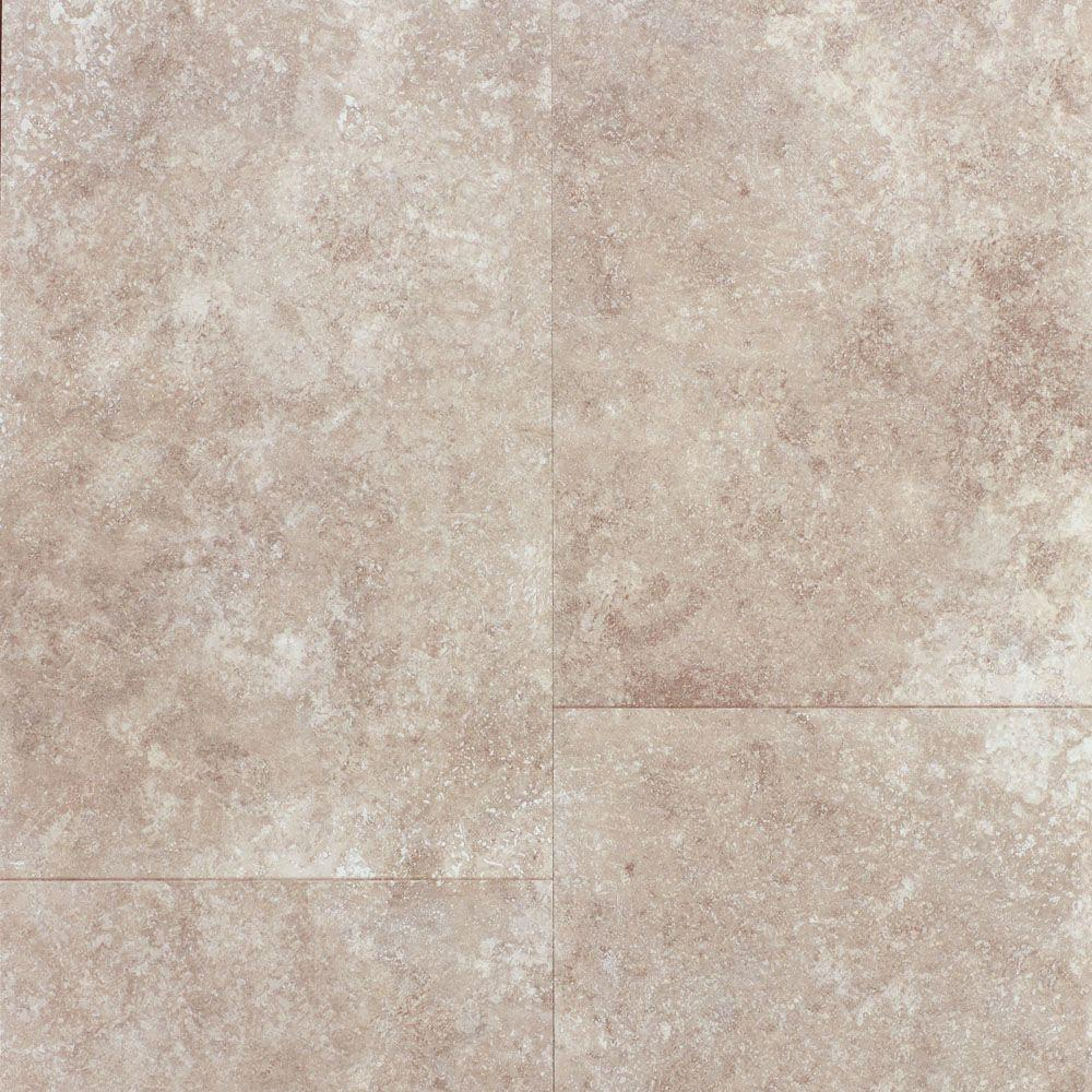 Travertine Tile Grey 8 Mm Thick X 11 13 21 In  Wide Textured Laminate Stone Flooring The