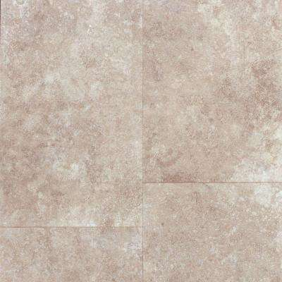 Travertine Tile-Grey 8 mm Thick x 11-13/21 in. Wide x 47-5/8 in. Length Laminate Flooring (26.44 sq. ft. / case)