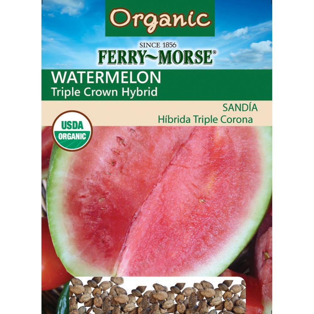 Watermelon Triple Crown Hybrid Seeds