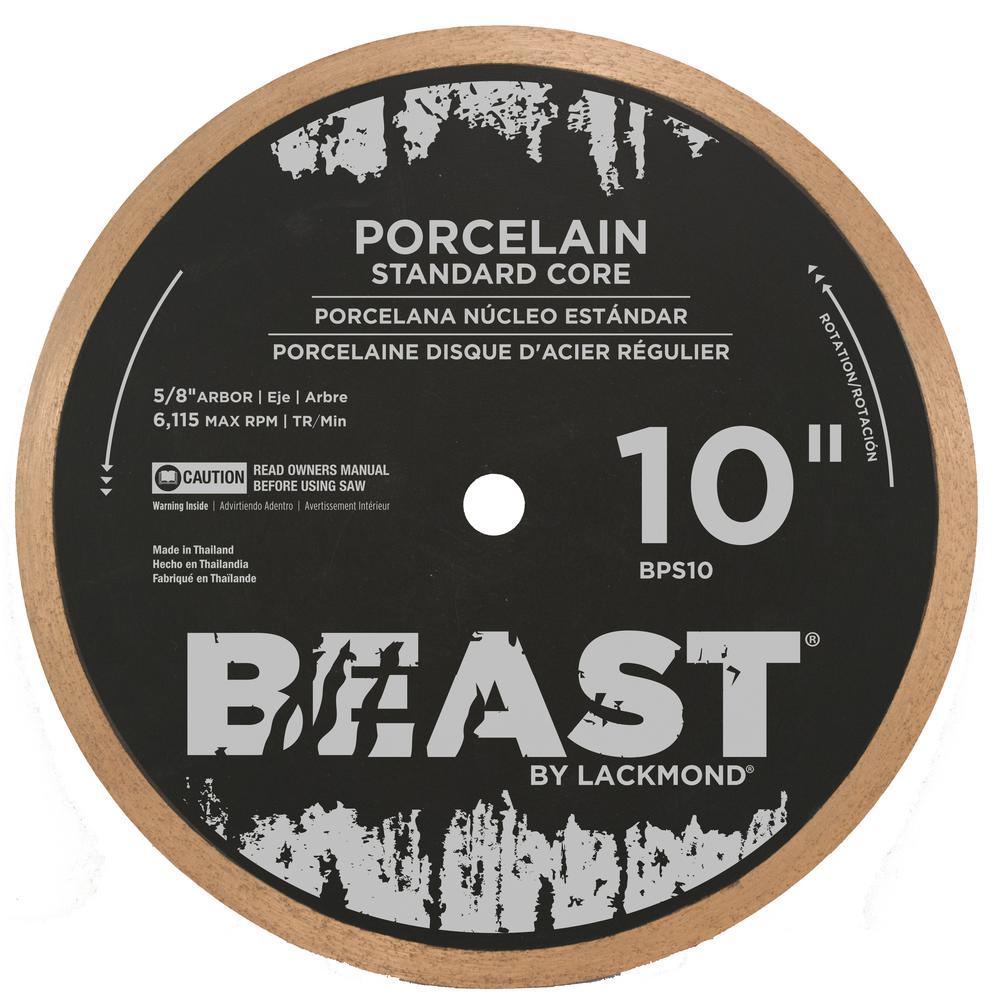 Beast 10 in. Standard Core Hard Porcelain Blade 0.050 x 5...